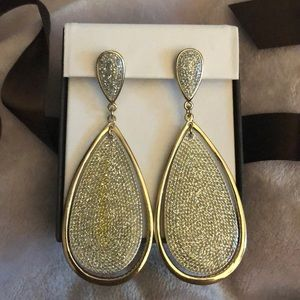 Gorgeous 🤩 sparkly gold earrings 💕